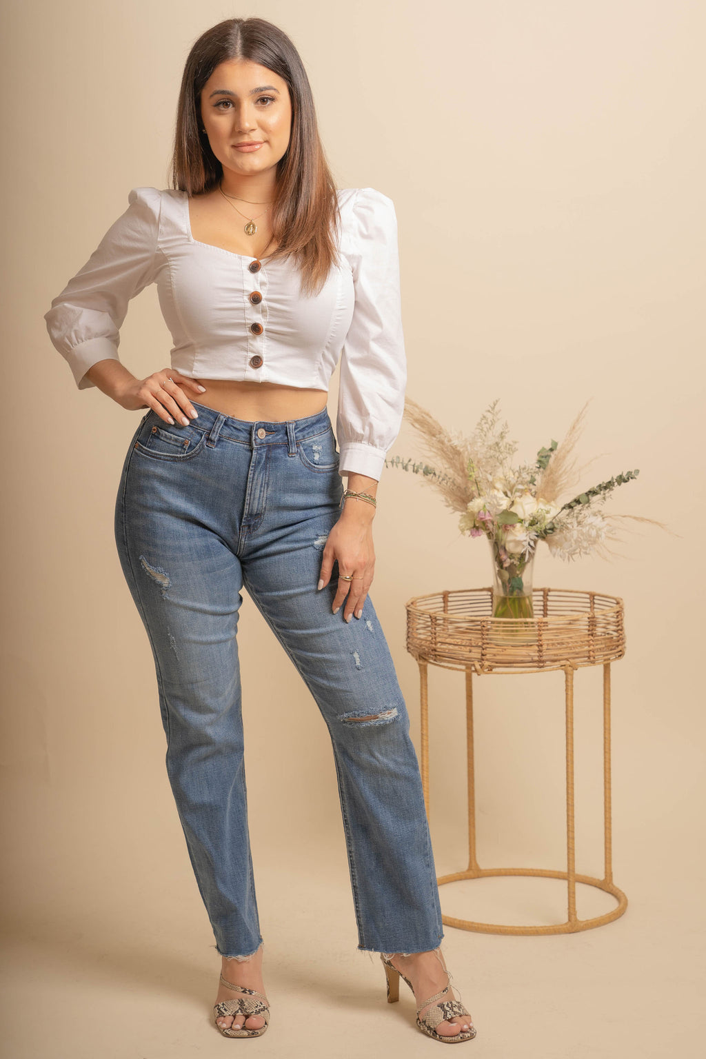 Dreamy Straight Leg Jeans