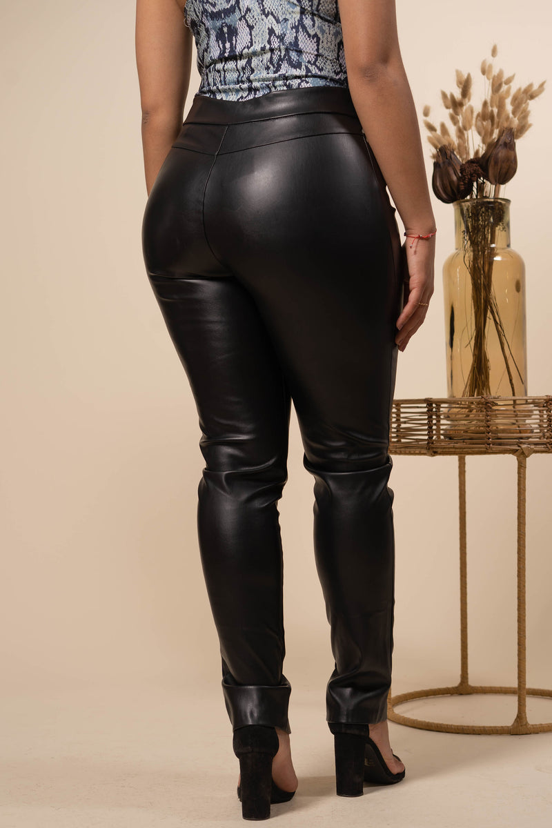 Falling For You Leather Pants