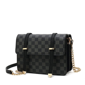 NAYLA Designer Inspired Bag Black