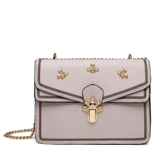 MEL Bee Shoulder Bag Grey