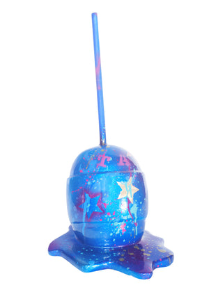 BLUE STARS LOLLIPOP