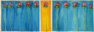 LOVELY ROSES - (TRIPTYCH)