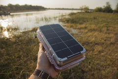 Measuring the heartbeat of wetlands with Portable Solar Power, Arduino and XBee