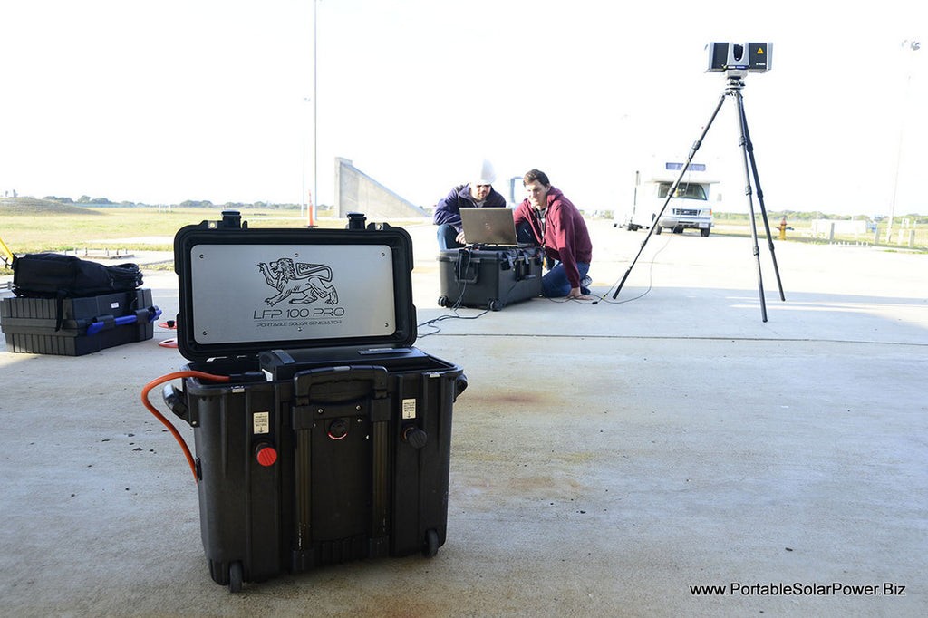 Portable Solar Generator used by NASA