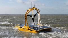 Autonomous solar powered catamaran begins studying the Celtic Sea