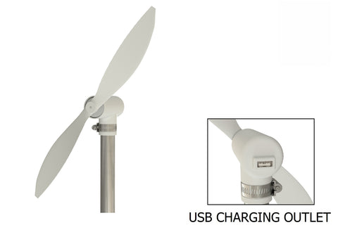 Portable 10W USB Wind Turbine Power Generator