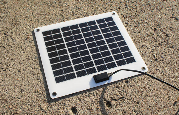 10 Watt Non Glass Monocrystalline Portable Solar Panel