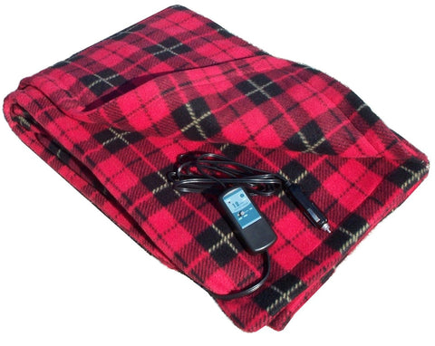 12v Heated Fleece Electric Blanket