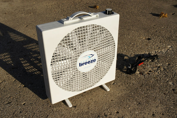 12v Hi Power Fan For Portable Solar Power Systems