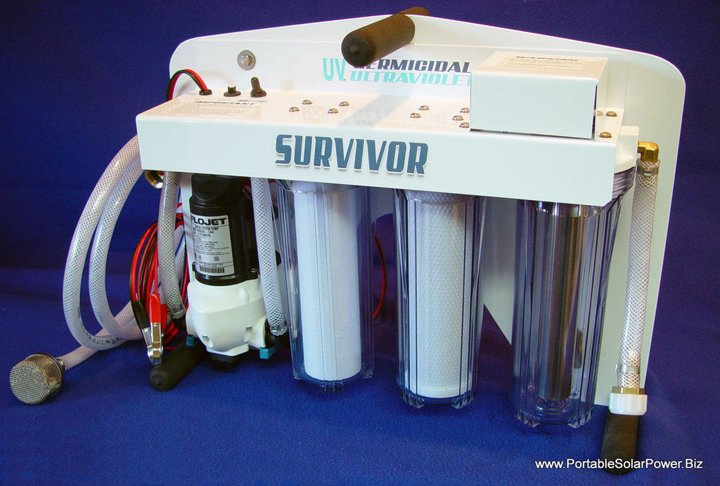 portable water filter system. 12v Portable Survivor Water Purification System Filter T