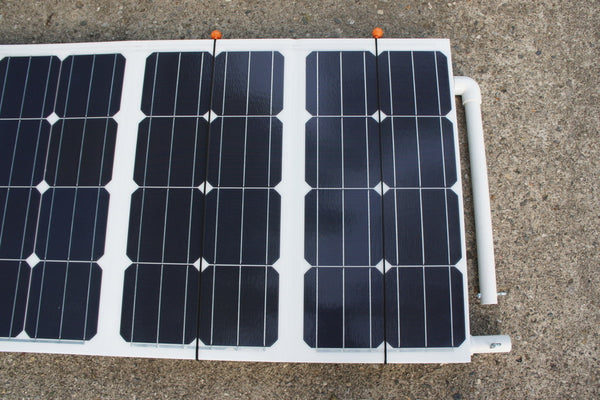 135W Hi Efficiency Monocrystalline Folding Portable Solar Panel