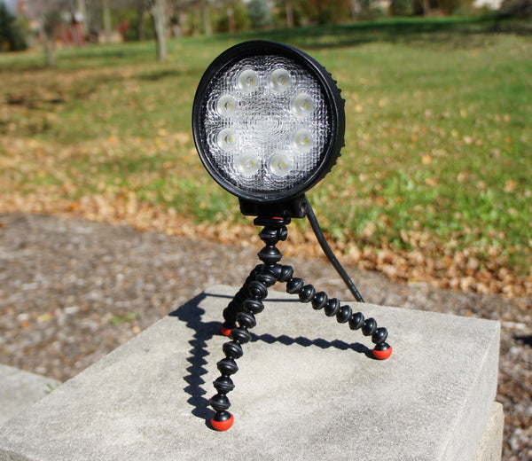 15w 12v Waterproof LED Light + Magnetic Flexi Mounting System