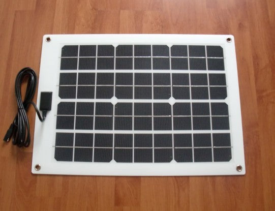 20 Watt Monocrystalline Non Glass Portable Solar Panel