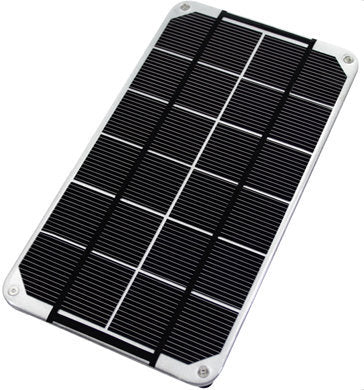 3.4 Watt 6v Monocrystalline Portable Solar Panel