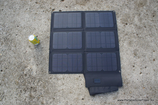 36 Watt Hi Efficiency Folding Portable Solar Panel