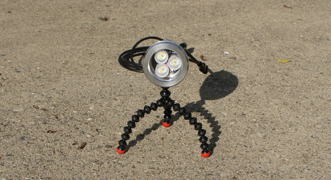 3w 12v Waterproof LED Light + Magnetic Flexi Mounting System