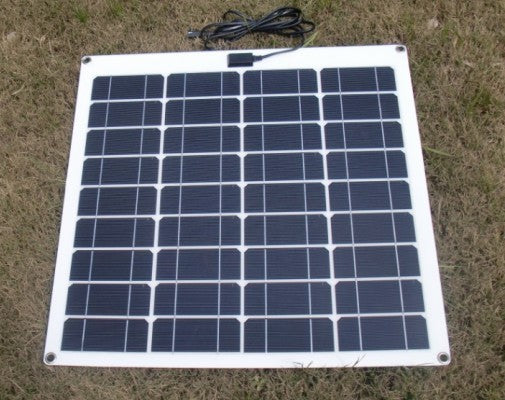 50 Watt Non Glass Monocrystalline Portable Solar Panel