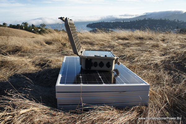 LFP 40 v3 Portable Solar Power System