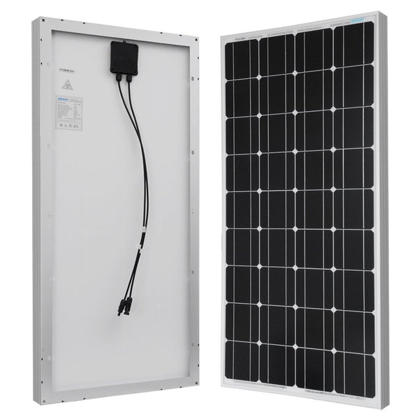 100w Glass Solar Panel Upgrade for ECS LFP 20 Solar Generator