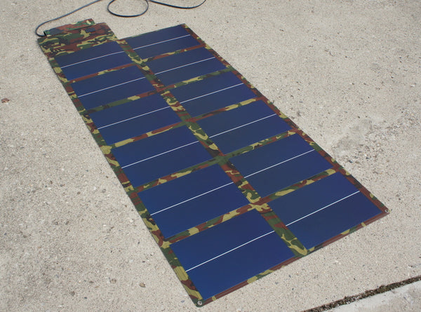 72w Thin Film Folding Portable Solar Panel