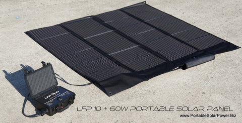 LFP 10 Portable Solar Power Generator