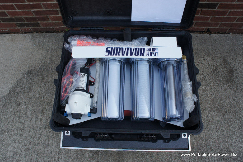 12v Portable Survivor Water Purification System