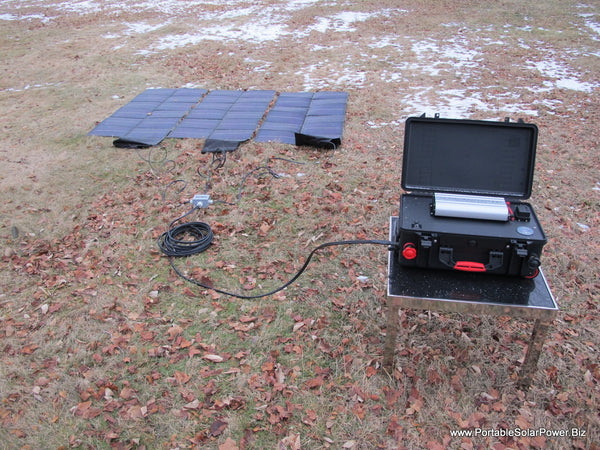 LFP 100 Portable Solar Power System v2
