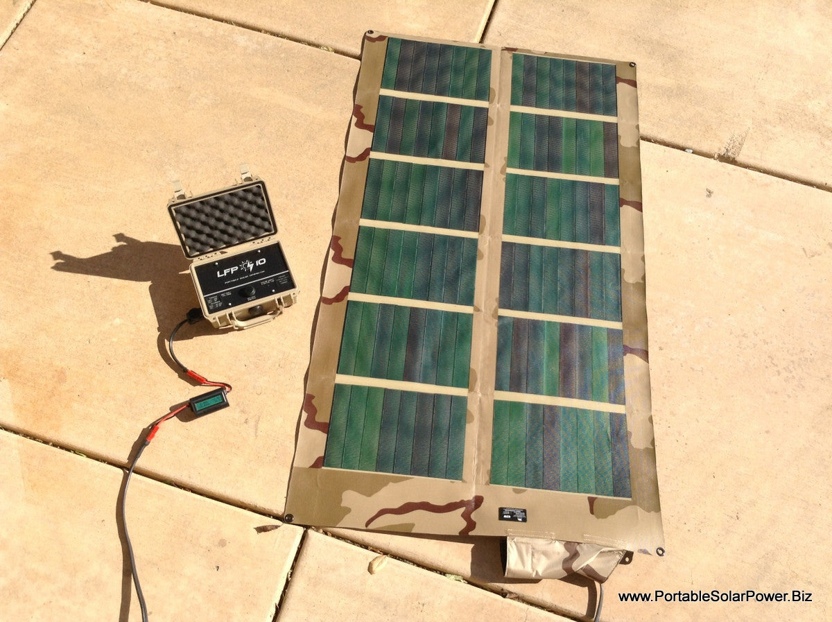 Battery And Solar Panels For 12v Motor Controlled By