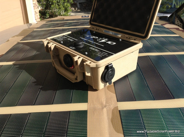 LFP 10 + Plus - Portable Solar Power System