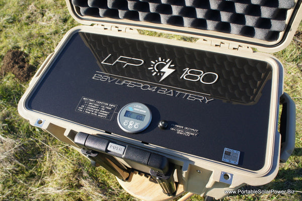 Custom LFP 180 Battery Build for PetroCloud