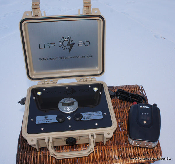 LFP 20 Portable Solar Power Generator System