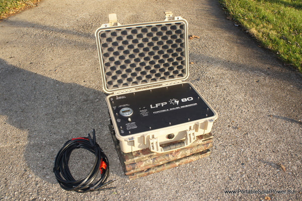 LFP 80 Portable Solar Power Generator System