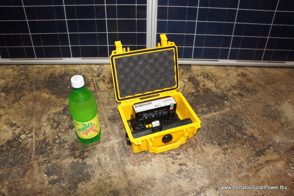 200w Portable Solar Battery Charger Kit