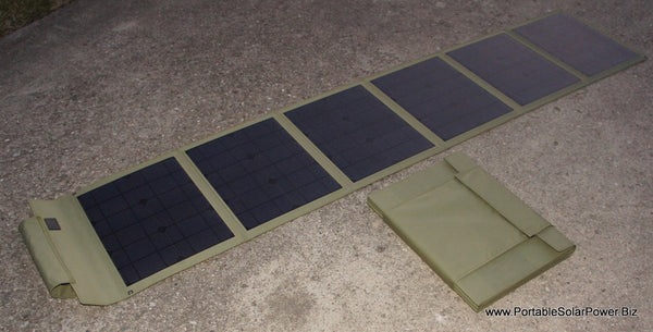 115w Hi Efficiency Portable Solar Panel