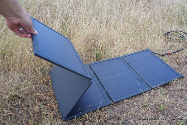 50w Folding Hi Efficiency Portable Solar Panel