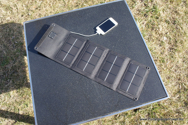 6 Watt Portable Solar USB Phone Charger