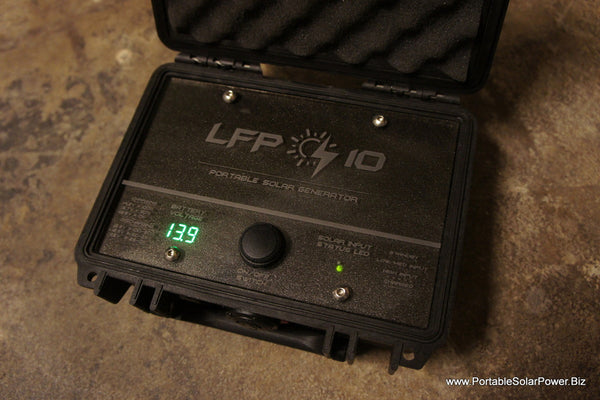 LFP 10 Portable Solar Power Generator System