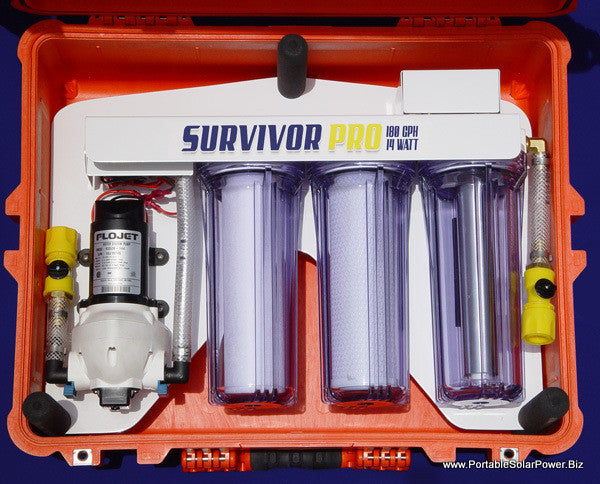 12v Portable Survivor Pro Water Purification System