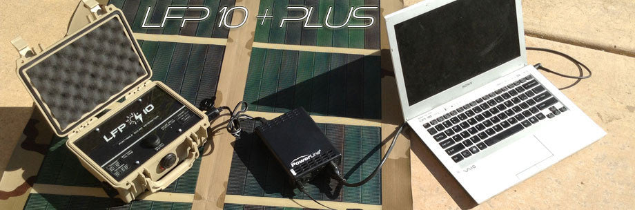 LFP 10 Plus Portable Solar Power Generator System