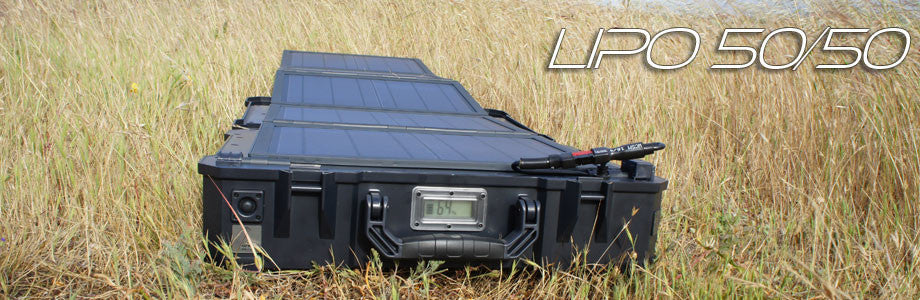 LiPo 50/50 Portable Solar Power Generator System