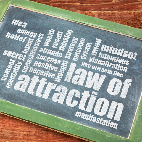 The Law of Attraction | Moon Charged Crystals