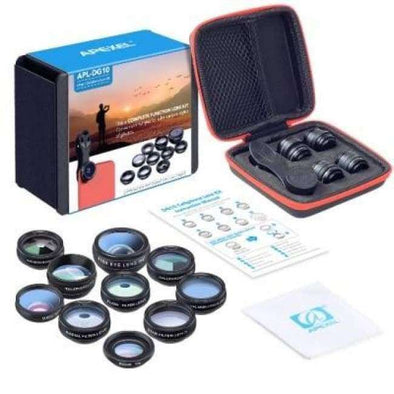 10 In 1 Universal Phone camera Lens Kit - Love Travel Share