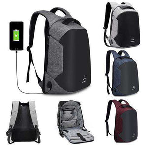 Anti-Theft USB Backpack- Love Travel Share