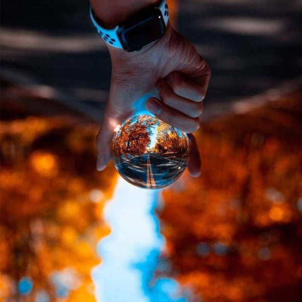 Crystal Ball Lens Photography Sphere - Love Travel Share