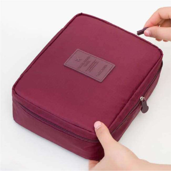 Make Up Bag/ Travel Organiser - Love Travel Share