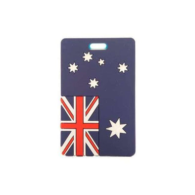 National Flag Tag Luggage - Love Travel Share