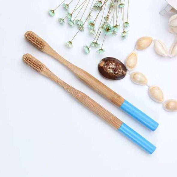 Natural Bamboo Charcoal Toothbrush - Love Travel Share