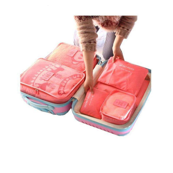 LTS Packing Cubes™ (Set of 6) - Love Travel Share