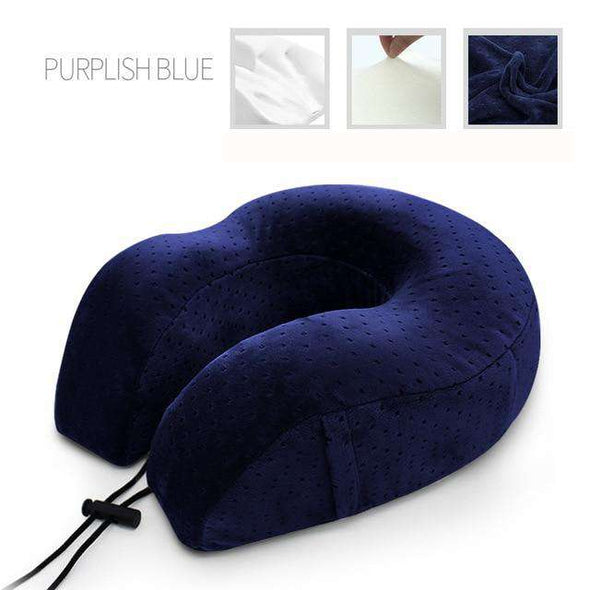 Memory Foam Travel Pillow - Love Travel Share