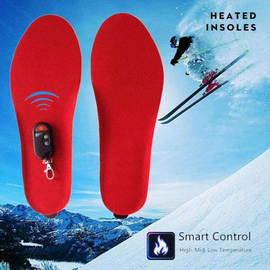 Remote Control Heated Insoles - Love Travel Share